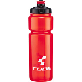 Cube Icon Drikkeflaske 750ml, red